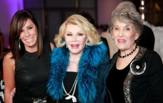 Melissa Rivers, Joan Rivers, Jo-Ann Lautman