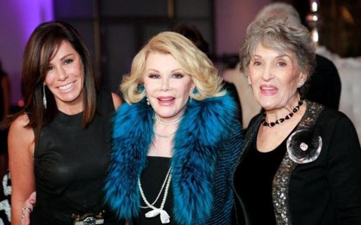 Melissa Rivers, Joan Rivers, Jo-Ann Lautman